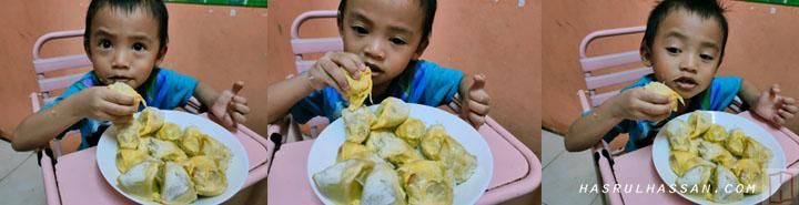 Pengalaman beli buah durian terus dari dusun, rm5 sekilogram