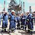 Kicillof visitó una refinería en Campana y reafirmó su apoyo a la industria petrolera