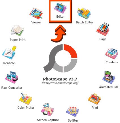 Membuka Editor di Photoscape