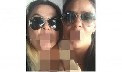 Tia de prefeito paraibano posta foto com gesto vulgar no facebook