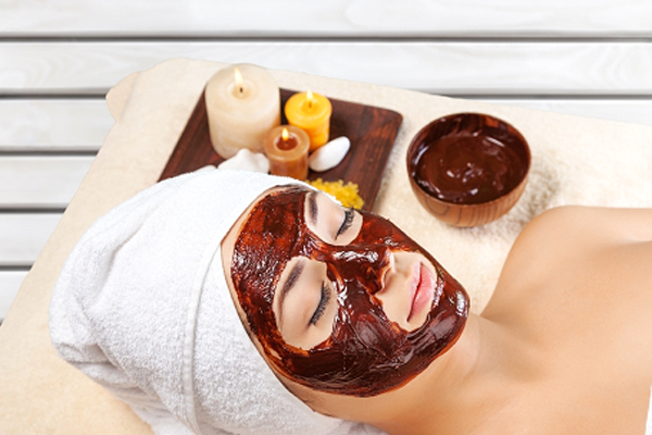 Cocoa contains antioxidants and can increase circulation - check out the DIY chocolate oatmeal face mask recipe!