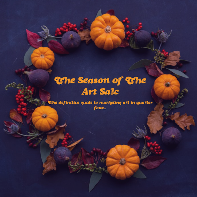 seasonal marketing, practical tips for artists, selling art, Beechhouse Media,