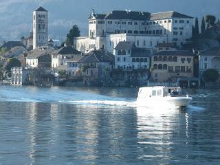 navigando verso San Giulio