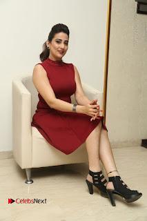 Telugu Tollywood Anchor Manjusha Pos in Red Short Dress  0132.JPG