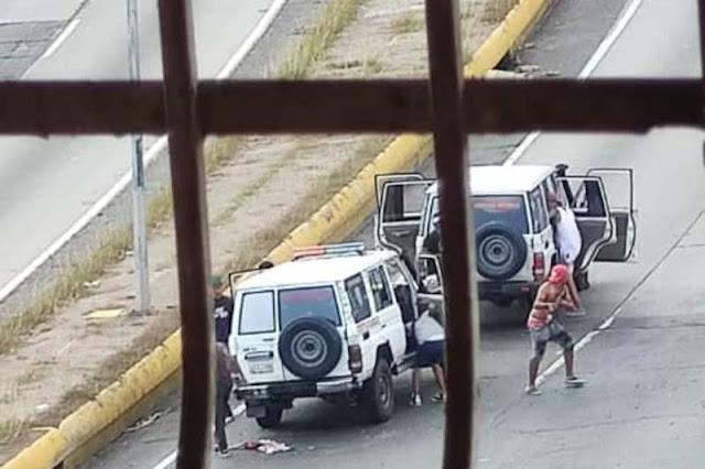 DOS FUNCIONARIOS DEL CICPC HERIDOS DURANTE TIROTEO CON DELINCUENTES DE LA COTA 905