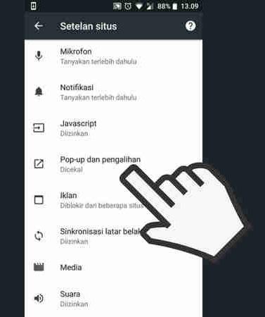 Cara Menghilangkan Iklan Di HP Android Tanpa Aplikasi