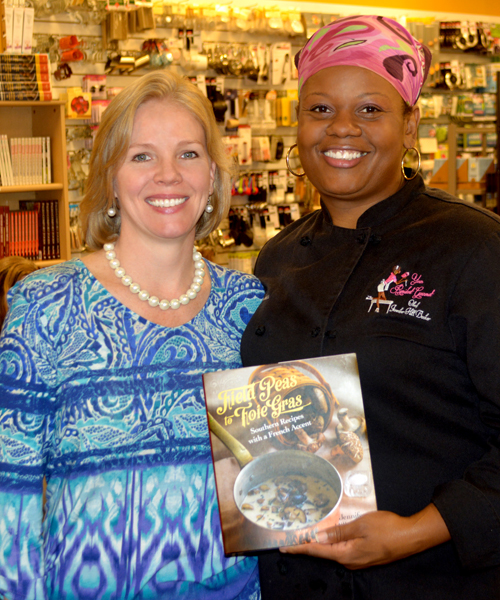 Mary Moore & Chef Jennifer Booker | The Cook's Warehouse
