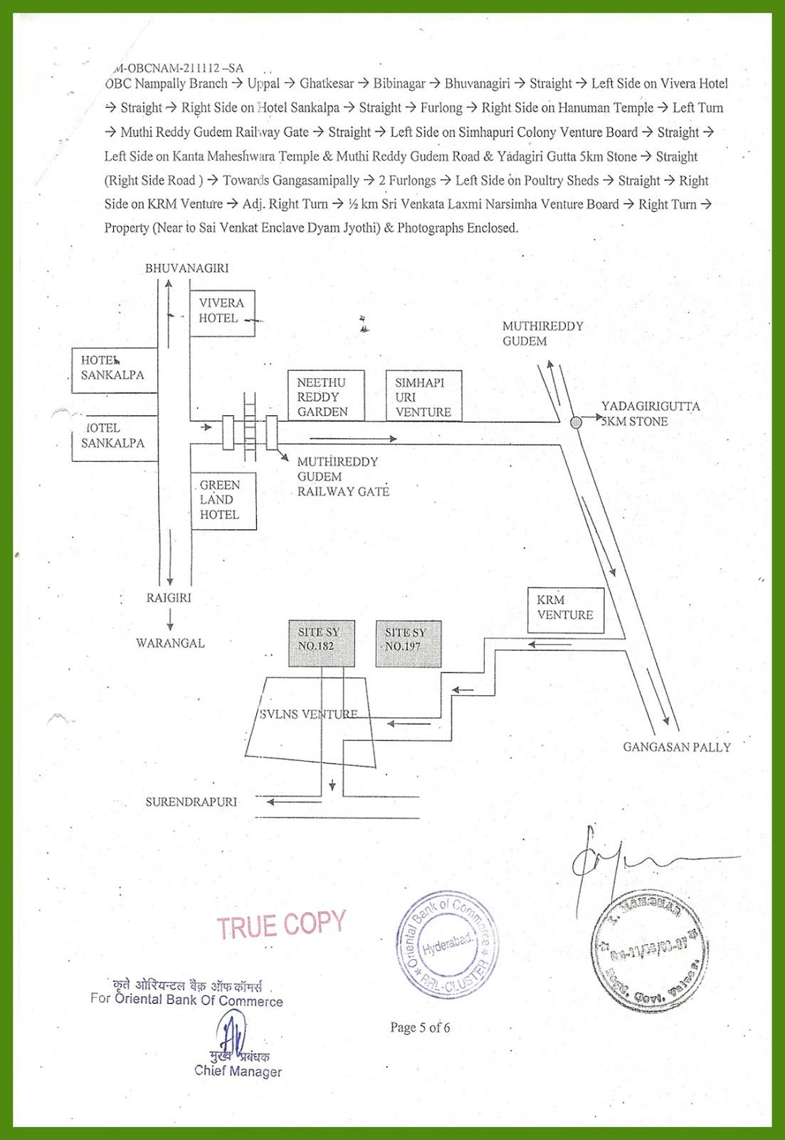 Survey No. 182 and 197 at Yadadri-Bhuvanagiri district-7