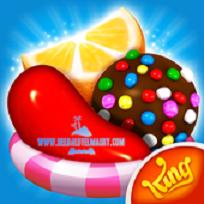 حمل احدث اصدار من لعبة الالغاز والمغامرات  candy crush saga لهواتف اندرويد