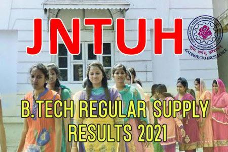 JNTUH B.Tech 1-1 Regular/Supply Result 2021