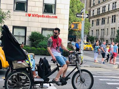 Pedicab Tour & Ride