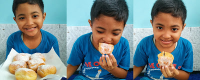 review molali donat kentang