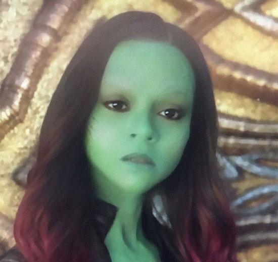 edit foto karakter marvel dengan snapchat