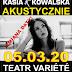 Kasia Kowalska w Krakowie: nowa data wydarzenia