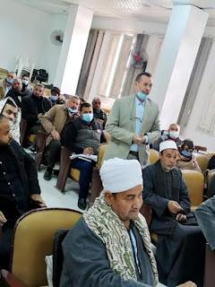 في إطار المشروع القومي لتطوير الريف المصري جلسات تشاور مجتمعية مع الأهالي بسوهاج