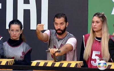 Juliette Freire foi a última eliminada da Prova do Líder; Gilberto Nogueira e Sarah ganharam a atividade