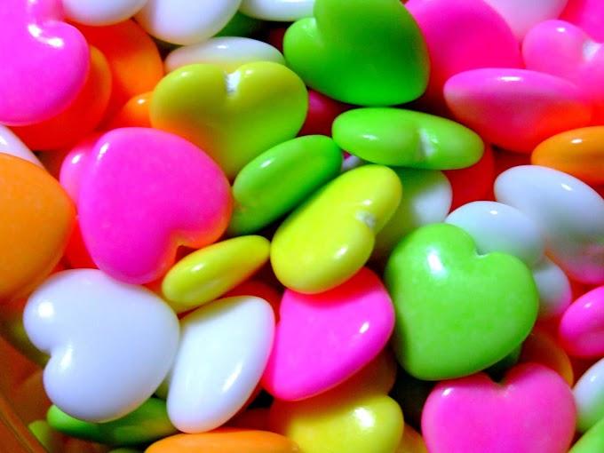 061 #かわいい #お菓子 #ラムネ菓子 #ハート