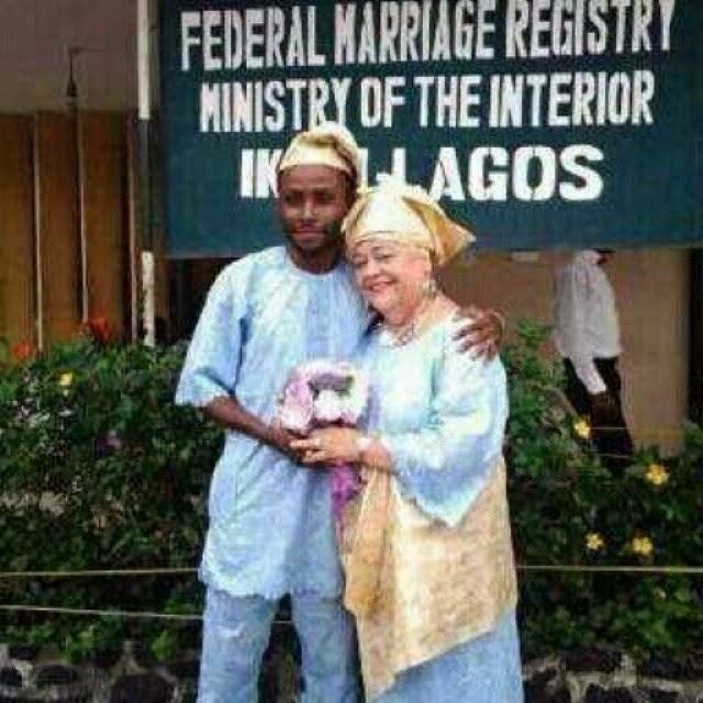 nigerian guys marries grandmother