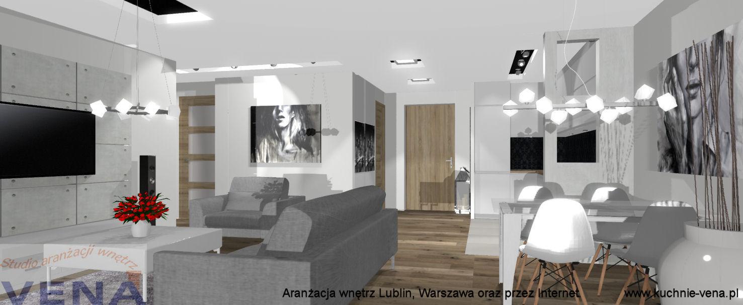Aranżacja Wnętrz Lublin Warszawa Oraz Przez Internetprojektowanie