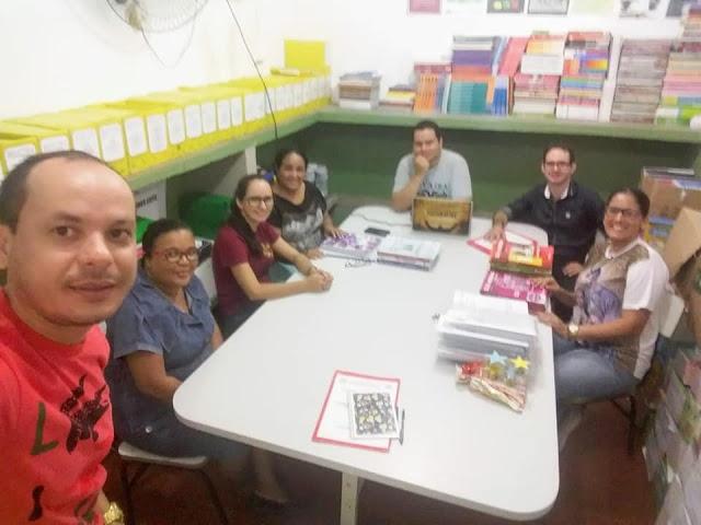 Planejamento Pedagógico dos Professores  do EJA é realizado pela Prefeitura de Olho d' Água do Casado