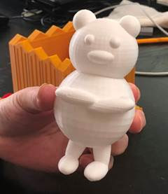 Finish assembling teddy bear