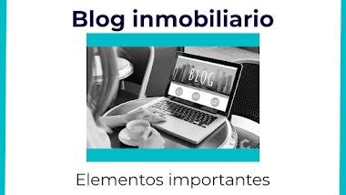 Elementos importantes en un blog inmobiliario