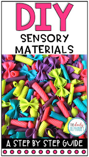 Looking for a DIY approach to creating sensory materials for your sensory table? Check out this step by step guide!