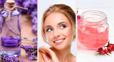 Nettoyants pour le visage à base de fleurs