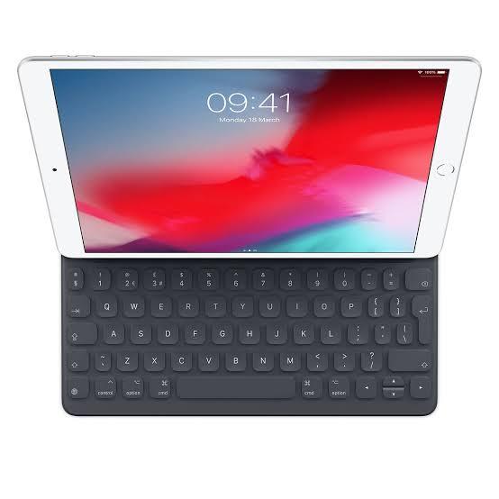 iPad with keyboard