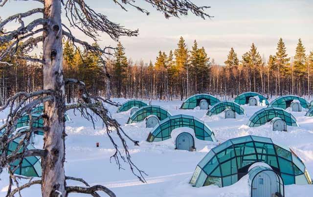 Igloo di Kakslauttanen Arctic Resort, Finlandia
