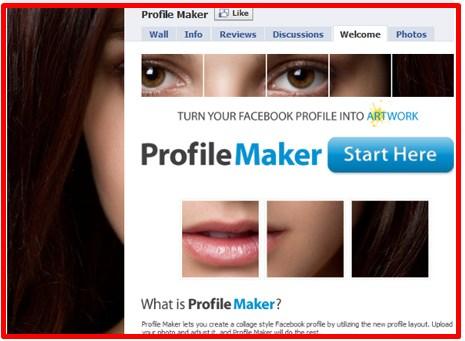 custom facebook profile picture maker