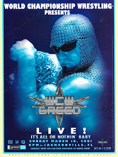 WCW Greed - Event poster