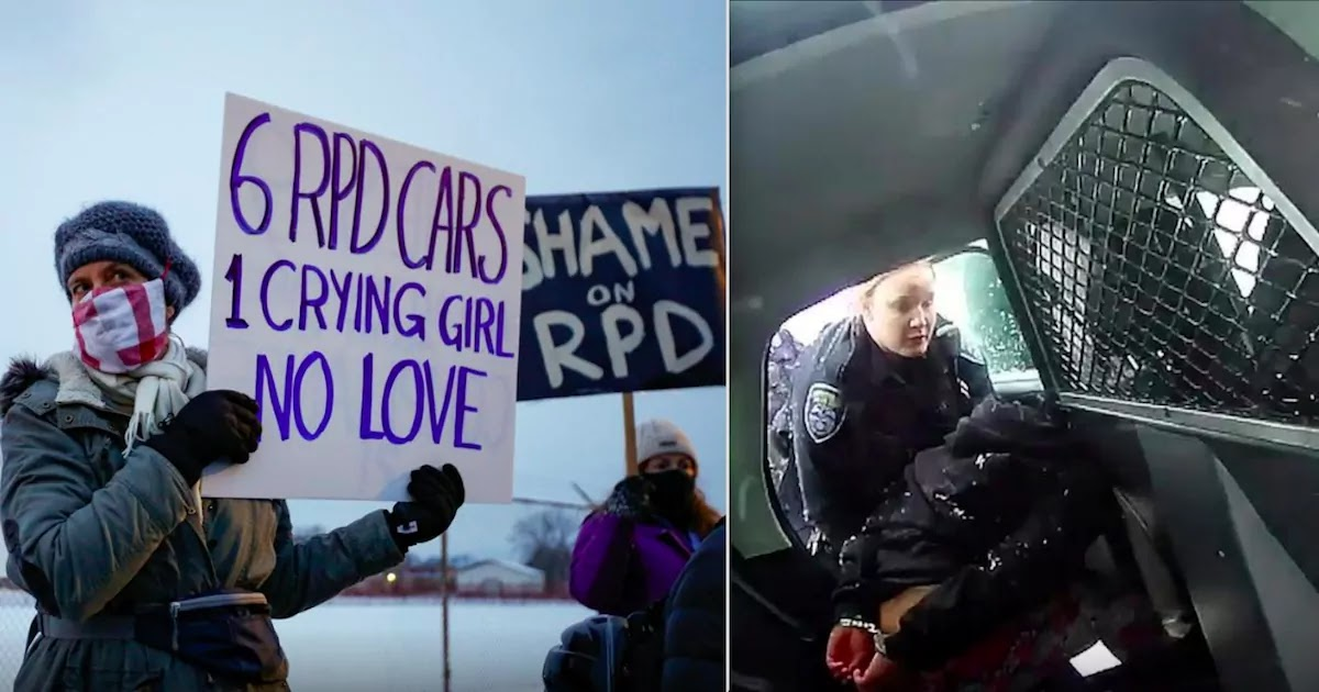 Video Shows Officers In Rochester Pepper-Spraying A 9-Year-Old Girl In The Back Of A Patrol Car