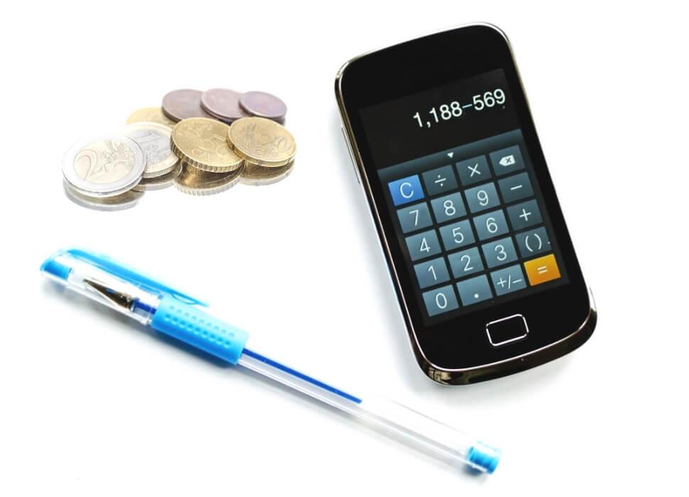 geld uitgeven rekenmachine
