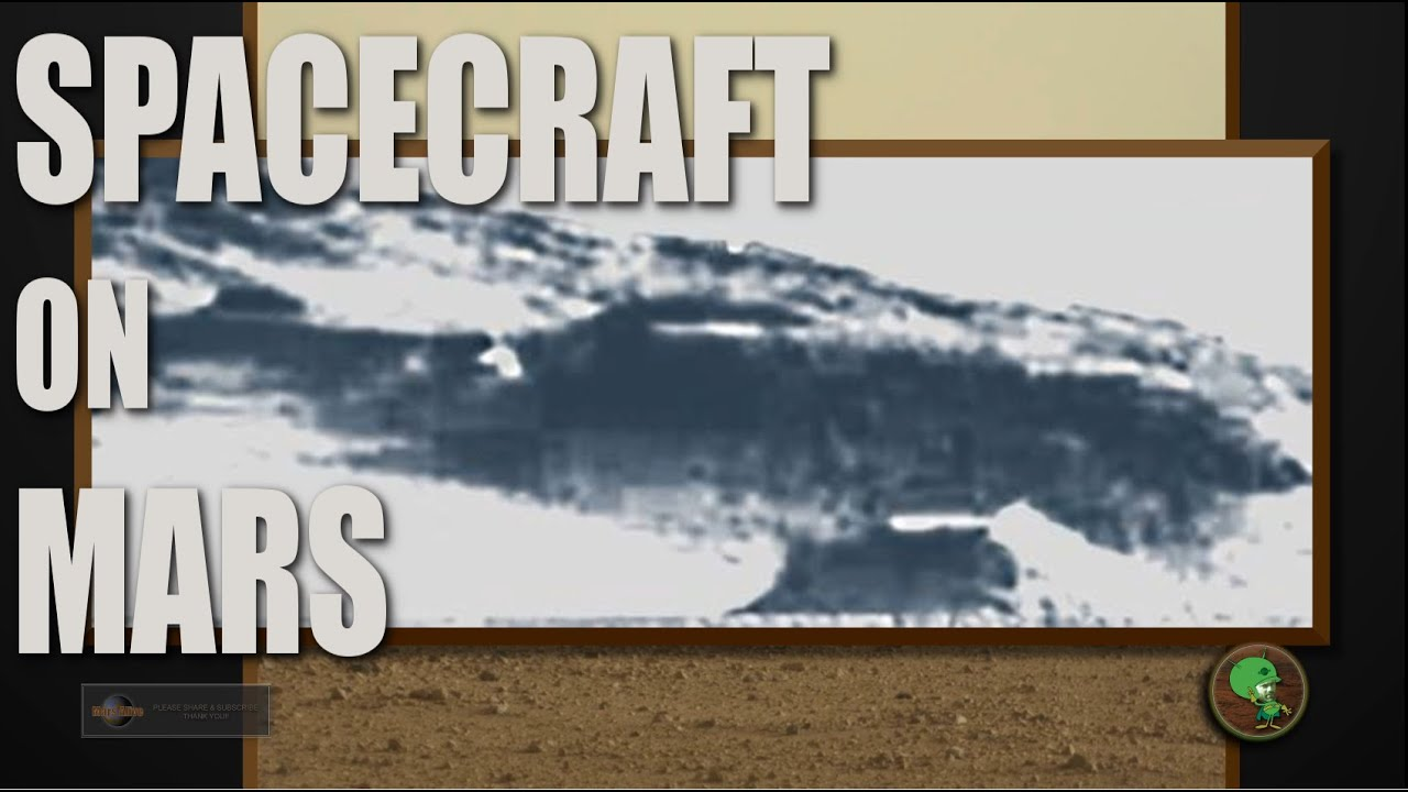INCREDIBLE! SpaceShip or Base on Mars?