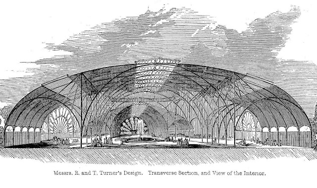 rejected Turner design for the 1851 Crystal Palace