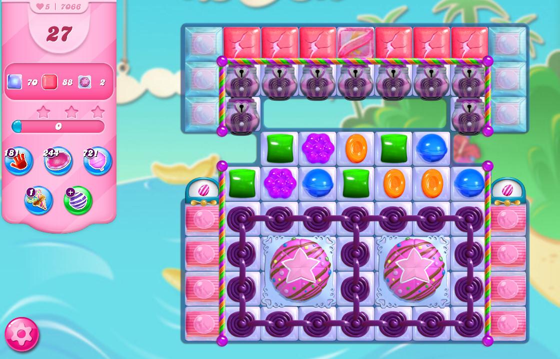 Candy Crush Saga level 7066