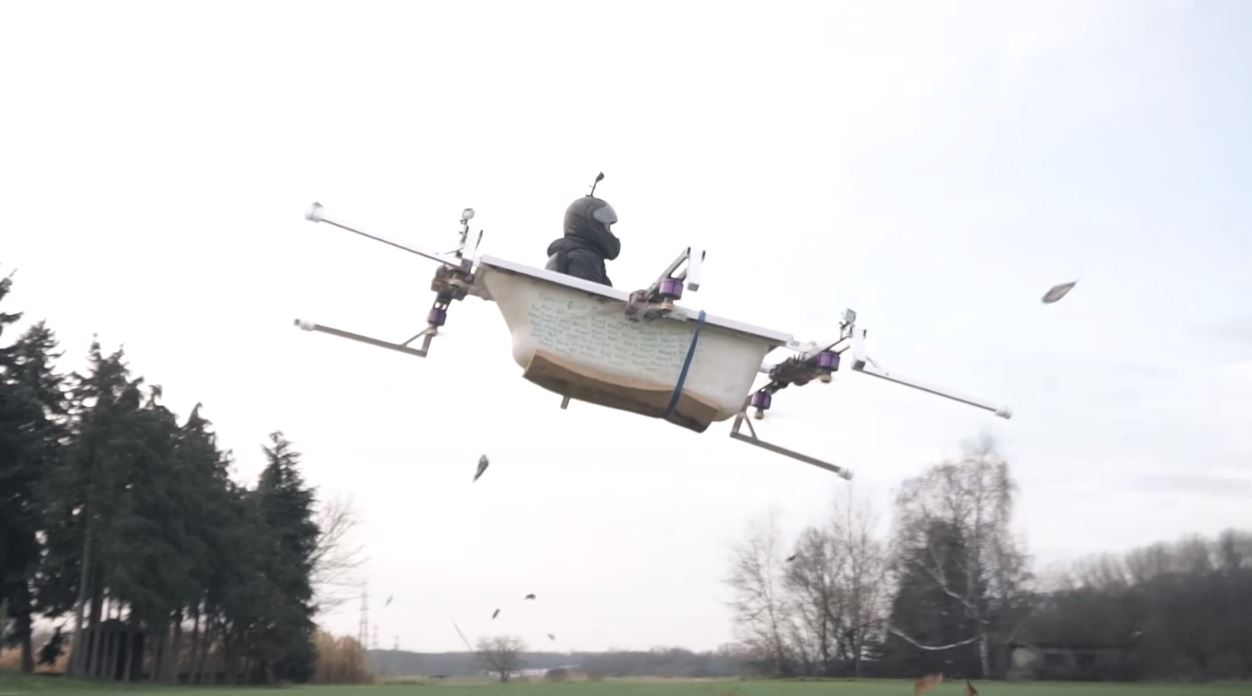 NEWS Flying Bathtub Is Less Than Relaxing The Test Pit