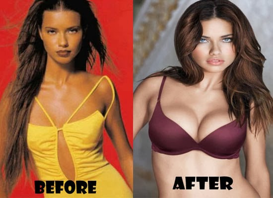 Fashion models with big breasts