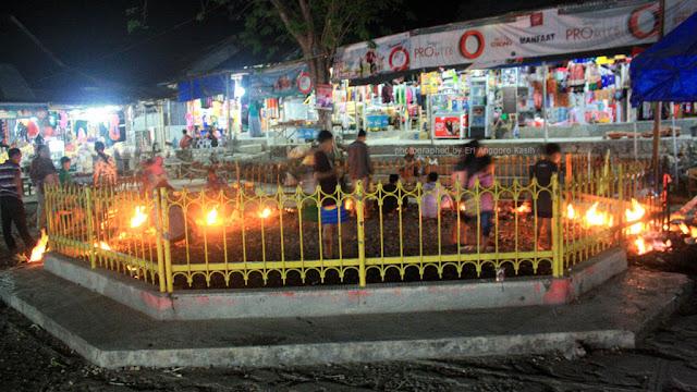 Api Tak Kunjung Padam Pamekasan Pulau Madura.