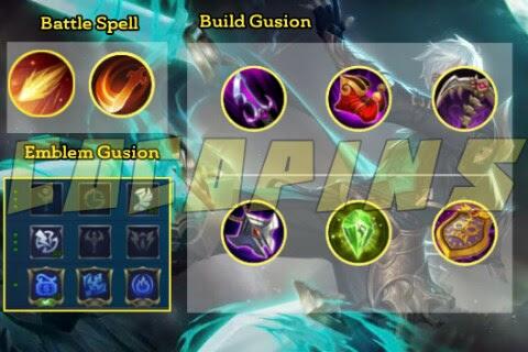 Build Item Gusion Meta Hyper Carry