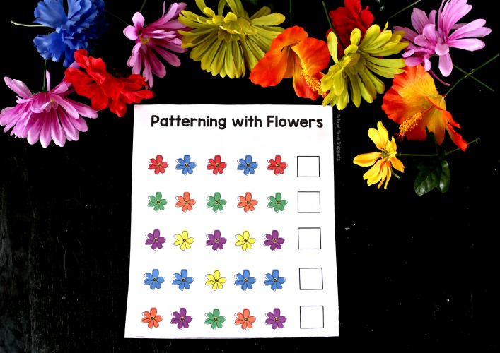 printable patterning cards