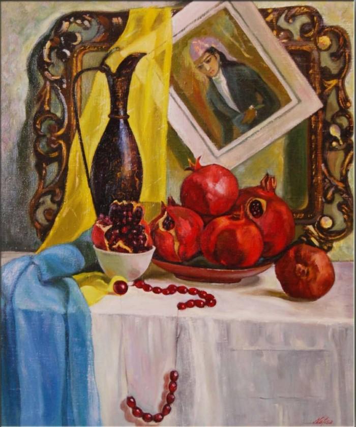 Современные художники Узбекистана. Нафиса Гильманова 11