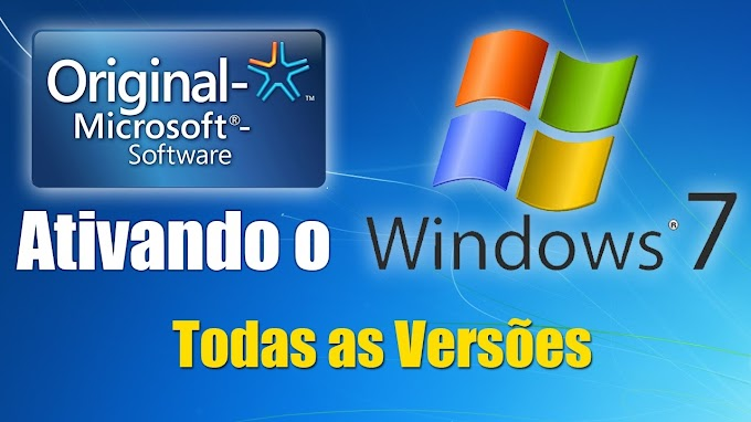 Ativar Windows 7 | Serial Windows 7