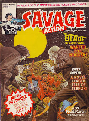 Savage Action #6, Blade