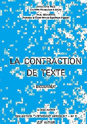 Télécharger contraction de textes au baccalauréat pdf