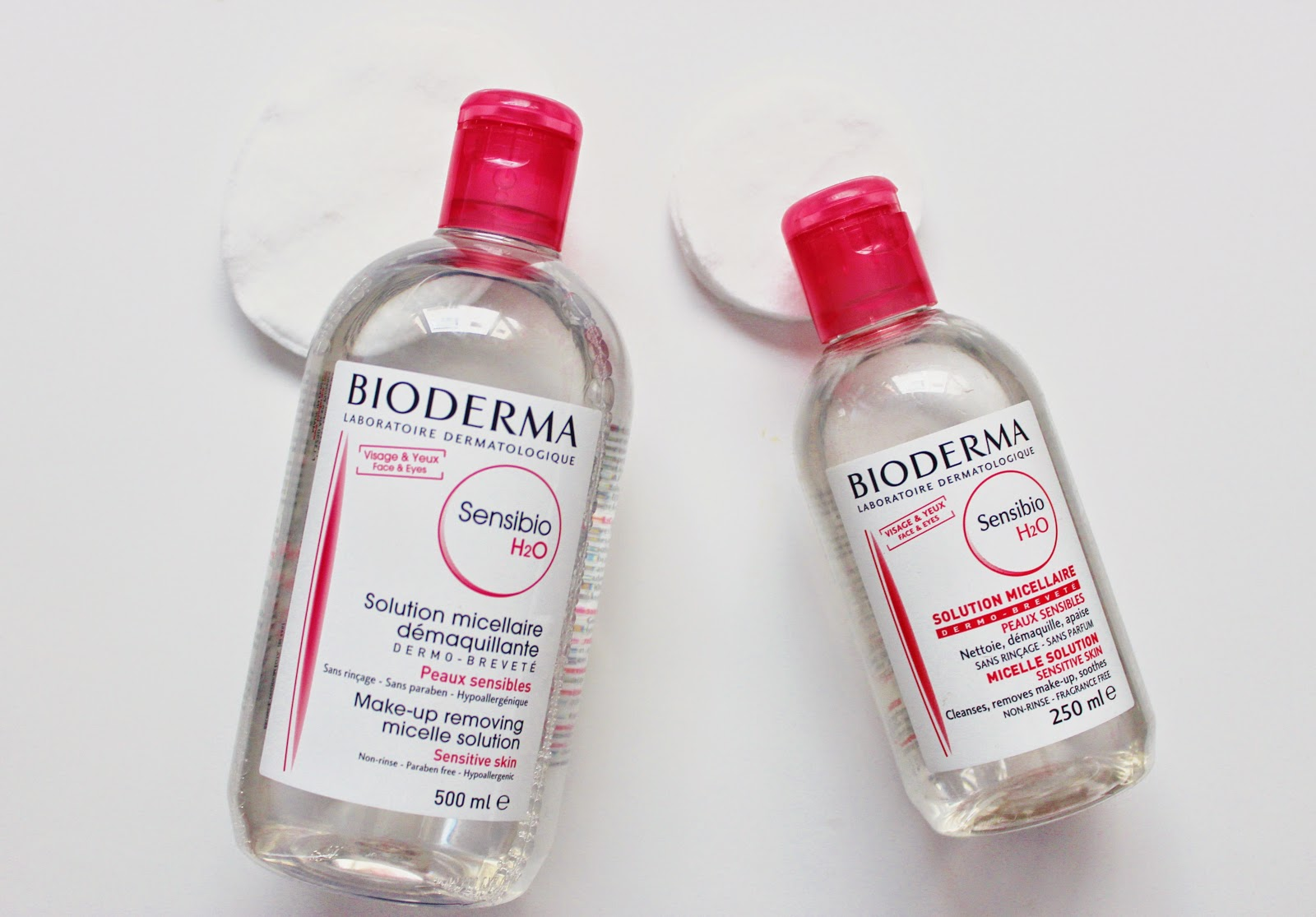 Bioderma Sensibio H2o Micelle Solution Theyellownotebook Sebium 500ml Ive Heard Of The From Blogosphere Its Adored And Labelled As Holy Grail Make Up Removal By Many Beauty Bloggers