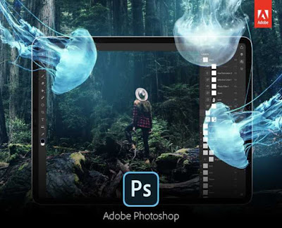 برنامج photoshop للكتابة على الصورة و زخرفتها