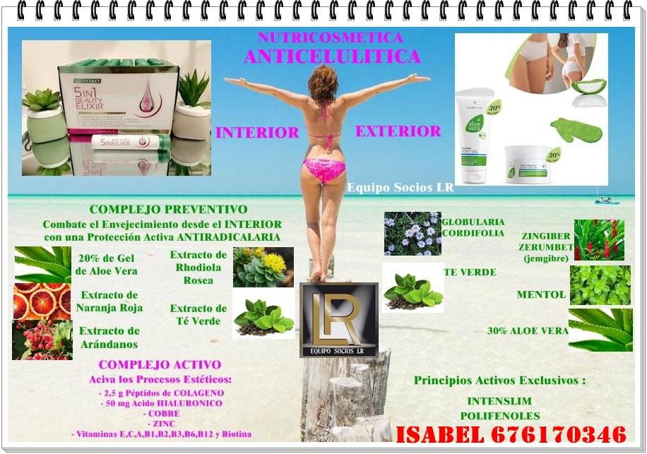 Lr Health And Beauty Isabel Lucha Contra La Celulitis