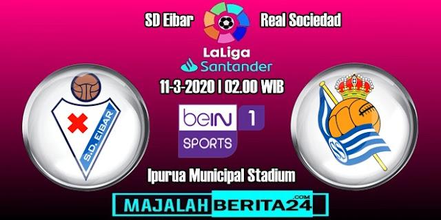 Prediksi Eibar vs Real Sociedad